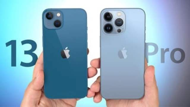 iPhone 13 vs 13 Pro Feature
