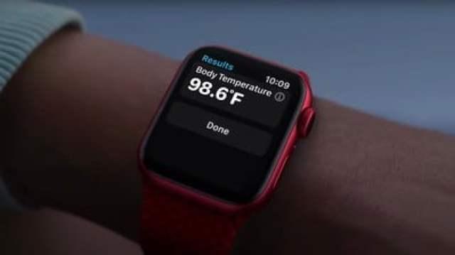 Apple Watch Body Temperature