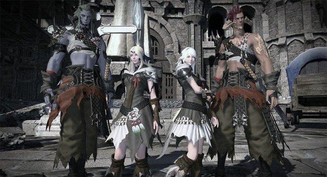 Final Fantasy Xiv Au Ra