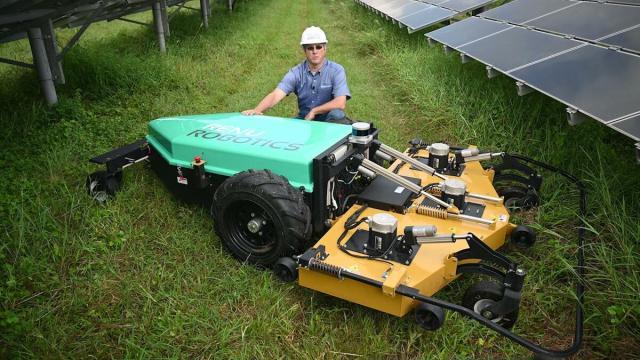Oui, l'entretien des pelouses avec un LiDAR résout de gros problèmes