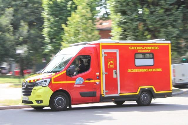 Un jeune homme de 22 ans, blessé par balle, a été évacué par les pompiers vers le centre hospitalier de Toulouse Rangueil, samedi 11 septembre 2021.
