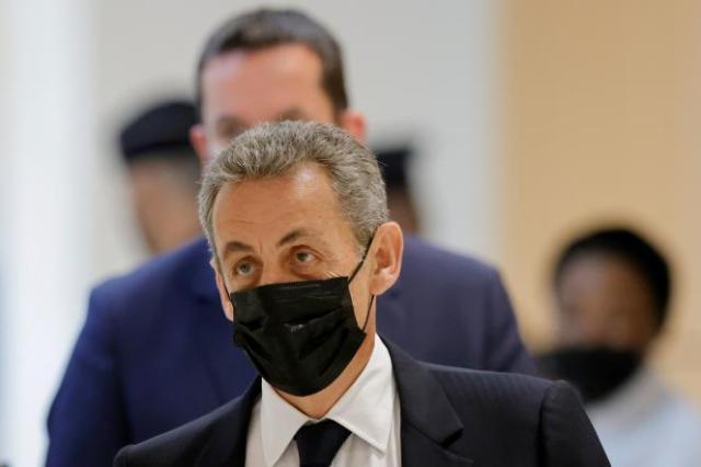 Contrairement à ses coprévenus, présents tous les jours, Nicolas Sarkozy n'est venu à l'audience que pour son interrogatoire.