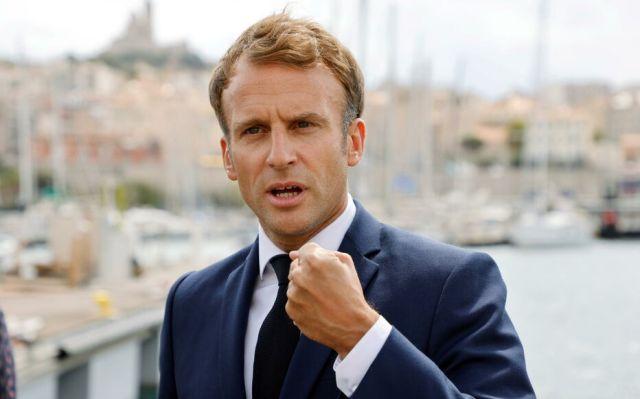 Emmanuel Macron ne compte pas baisser le rythme des réformes à sept mois de la présidentielle. Reuters/Ludovic Marin