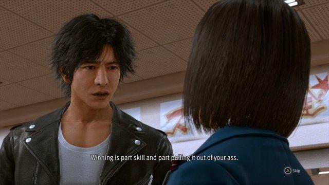 Lost Judgment Yagami Winning