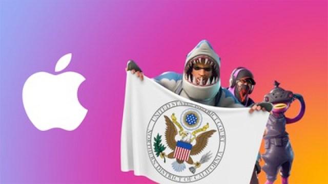 fortnite apple logo US DC NorCal feature