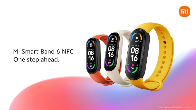 Xiaomi is bringing Mi Band 6 NFC to Europe, an AX3000 mesh Wi-Fi system and a smart projector