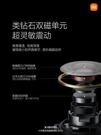 Xiaomi TWS Earphones 3 Pro: diamond-like carbon diaphragm