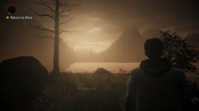 Alan Wake Remastered Evening Lake
