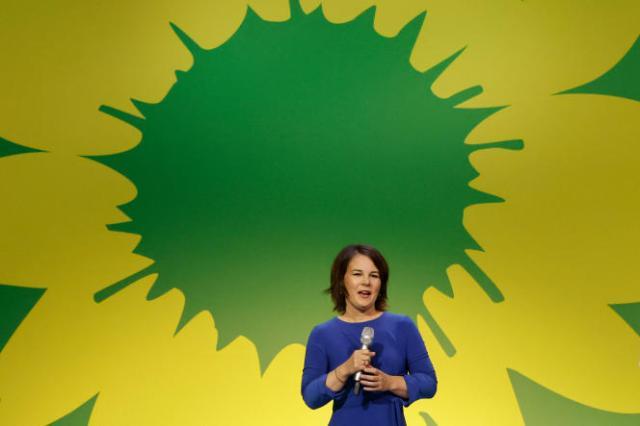 La coprésidente des Verts allemands, Annalena Baerbock.