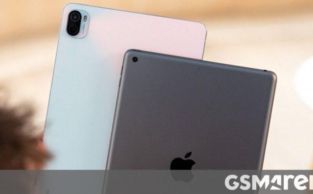 Comparaison vidéo entre Apple iPad 9e génération (2021) et Xiaomi Pad 5
