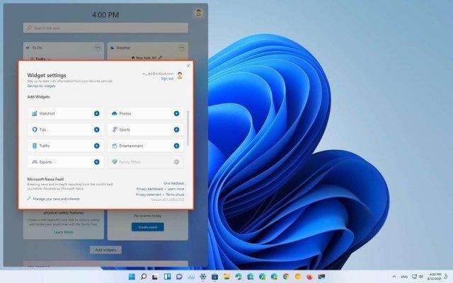 Windows 11 Widgets Settings