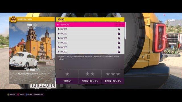 Forza Horizon 5 Horizon Story Screenshot