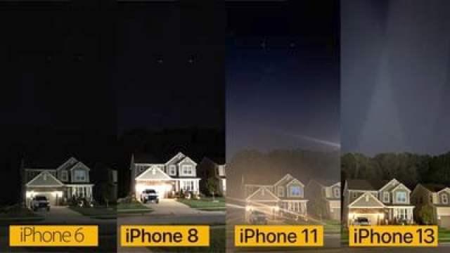 iphone camera comparison night