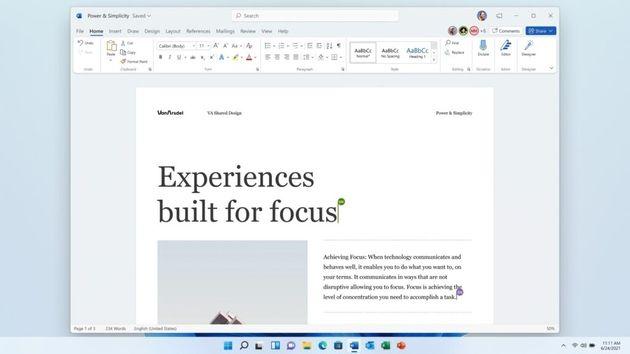 Office2021: L'offre sans abonnement à 150dollars arrive le 5octobre