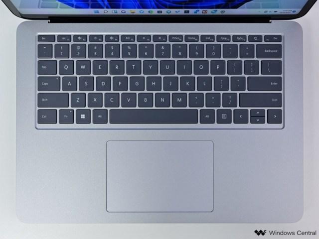 Surface Laptop Studio Keyboard Top