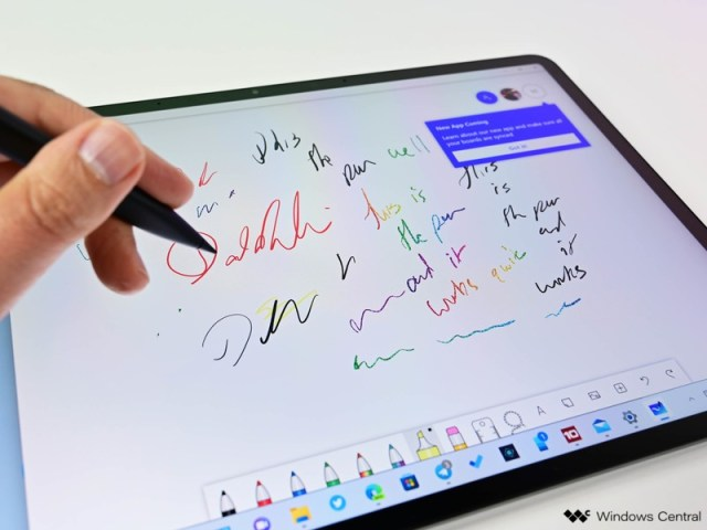 Surface Laptop Studio Studio Mode 3 Slim Pen