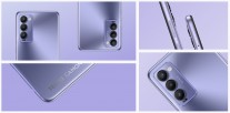 The Tecno Camon 18 will be available in the same colors: Iris Purple