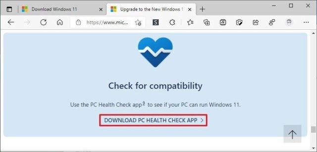 PC Health Check app download