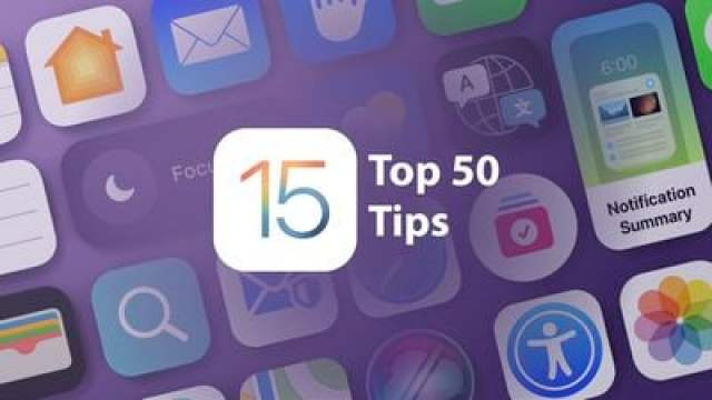 iOS 15 50 Tips Feature