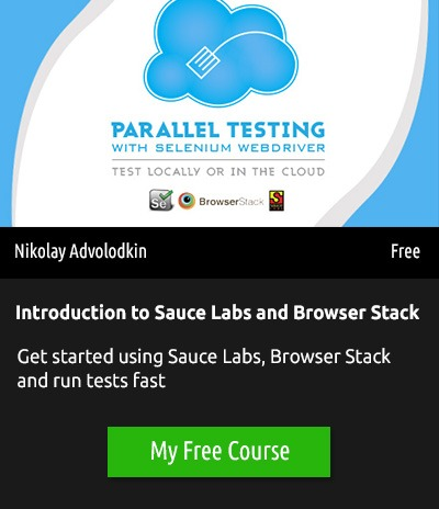 http://courses.ultimateqa.com/courses/parallel-testing-tutorial