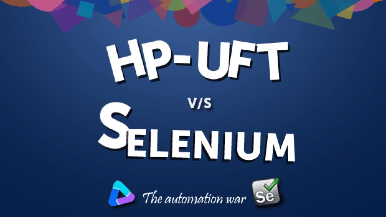 QTP Sucks, Selenium Rocks