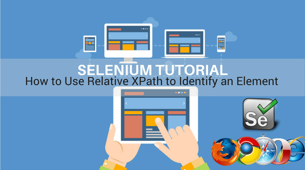 Selenium Tutorial – Element Identification – How to use Relative xpath to Identify an Element in Selenium