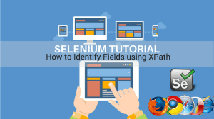 how to identify fields using xpath