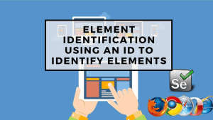 Using an ID to Identify Elements