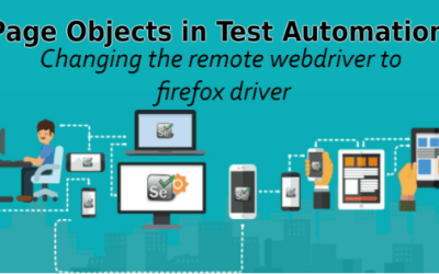 Selenium Tutorial – Page Objects in Test Automation – Changing the remote webdriver to firefox driver