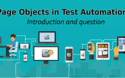 Selenium Tutorial – Page Objects in Test Automation – Introduction and Question