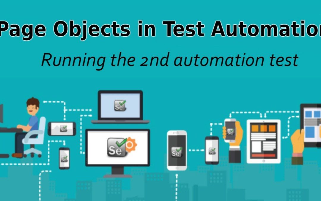 Selenium Tutorial – Page Objects in Test Automation – Running the 2nd automation test