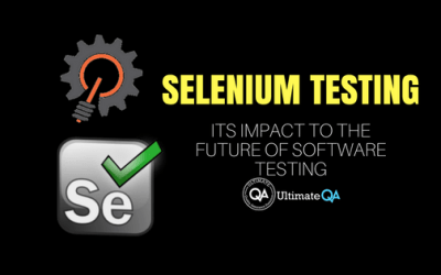 Selenium Testing and Its Impact to the Future of Software Testing