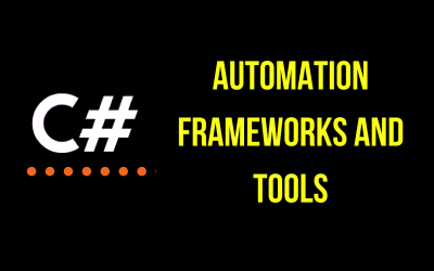 Improve your C# skills with these automation frameworks and tools!