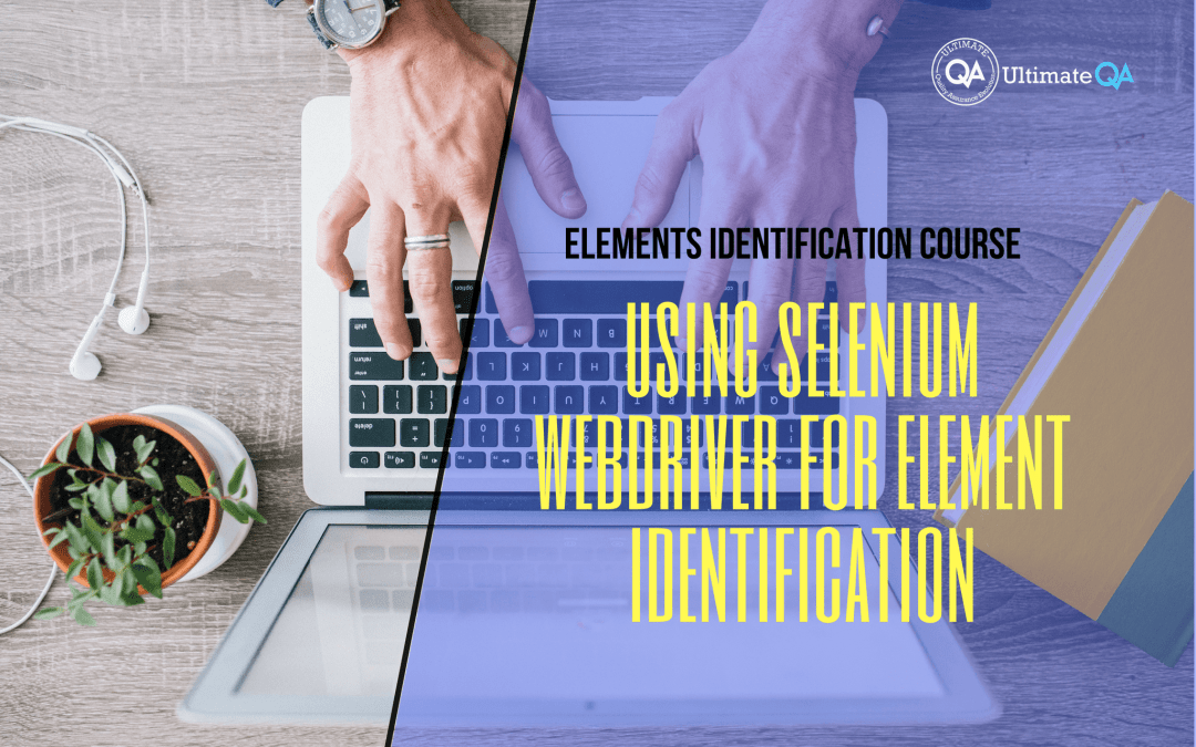 Selenium Webdriver Elements Identification course