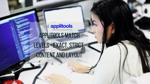 content, strict, layout are among examples of applitools match levels