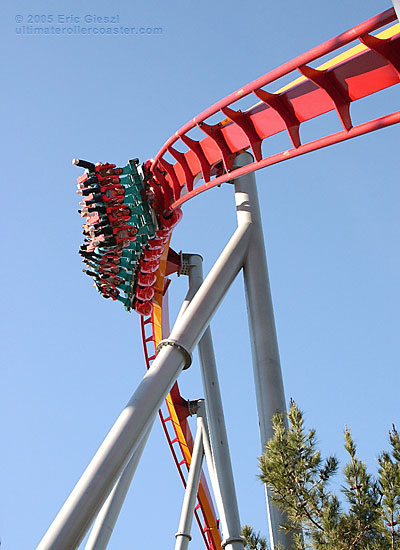 Overbanked Turn Silver Bullet Knotts Berry Farm