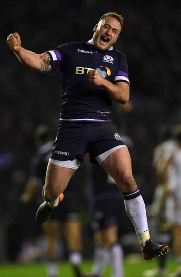 Stuart Hogg Ultimate Rugby Players News Fixtures and