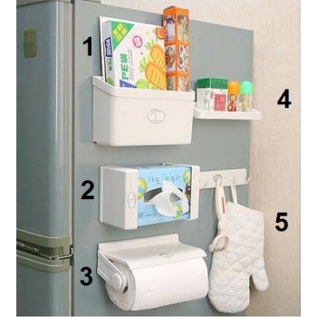 ultimate magnetized kitchen organizer – 5 pcs set - ultimateselfcare™