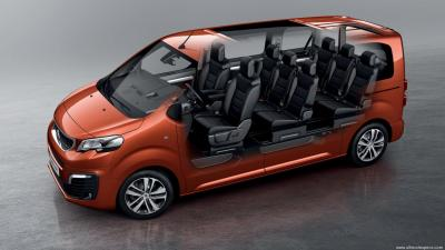 Peugeot Expert Traveller E Traveller Long 75kwh Technical Specs Dimensions