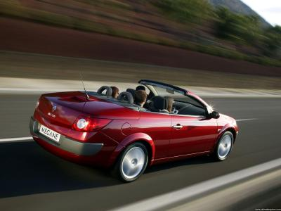 Renault Megane 2 Phase 1 Cabriolet 1 9 Dci 120 Technical Specs Dimensions