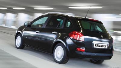 Renault Clio 3 Phase 1 Grand Tour Authentique 1 2 16v 75hp Technical Specs Dimensions