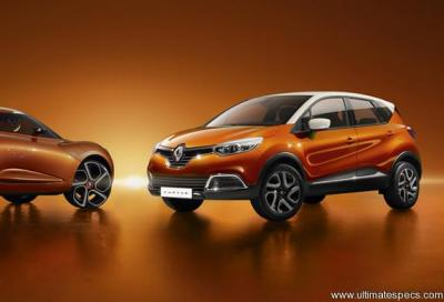 Renault Captur 1 Phase 1 Tce 120 Edc Helly Hansen Technical Specs Dimensions