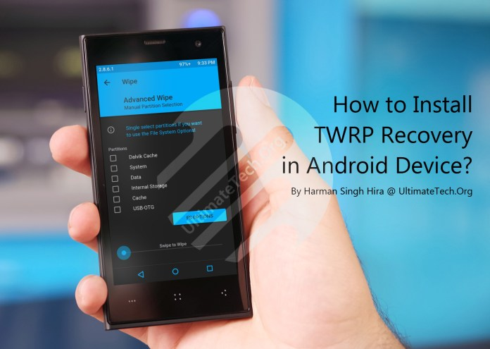 how to get twrp recovery