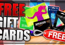 How to Get Free Gift Cards?