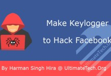 How to Make Keylogger to Hack Facebook?