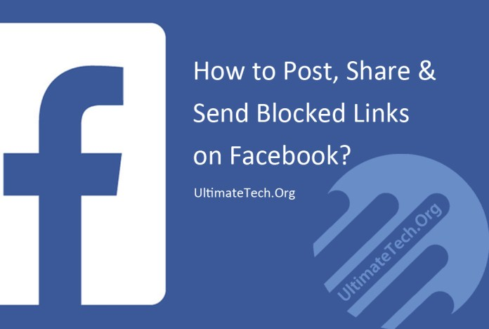 How to Post or Share Blocked Links On Facebook?