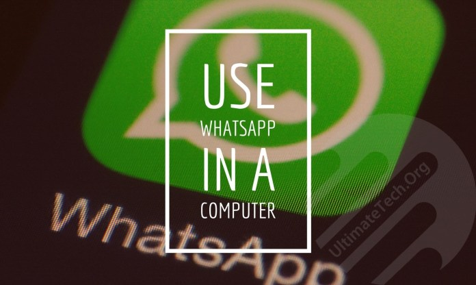How To Use Whatsapp In a Computer?