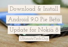 Install Android 9.0 Pie Beta Update for Nokia 8