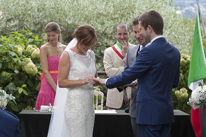 Bride and Groom   Lake Como Wedding   Belle Momenti Photography