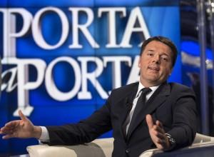 Matteo Renzi intervistato a 'Porta a Porta' (http://www.giornalettismo.com/archives/2100639/matteo-renzi-vangelo/)